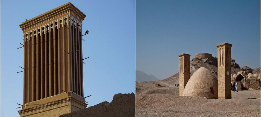 windcatcher in Iran