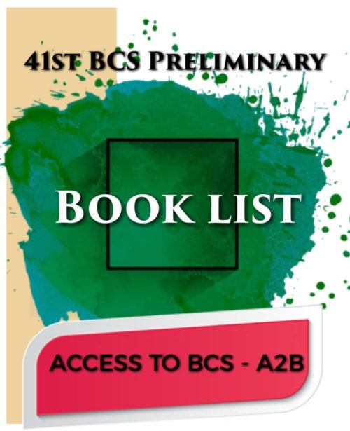 BCS Preli book list